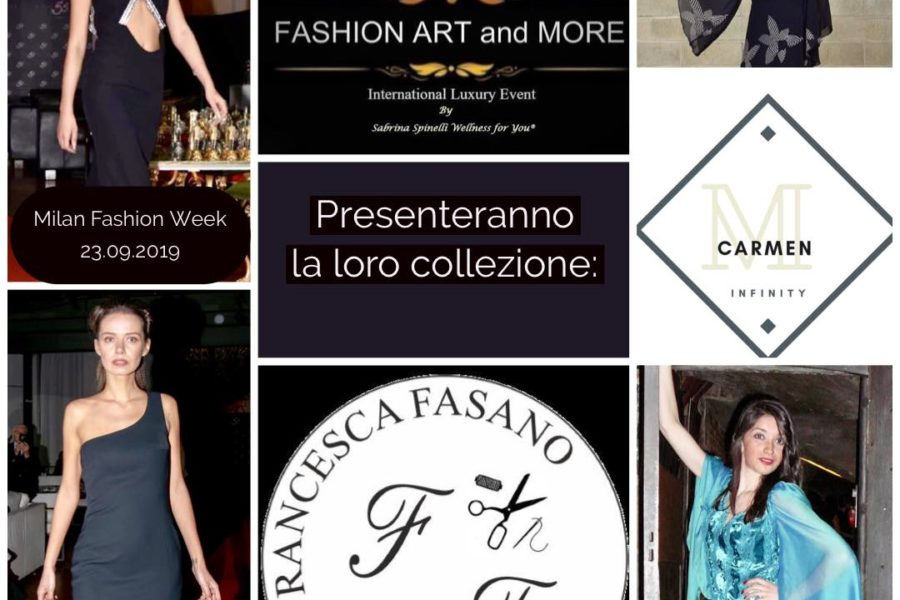 FASHION ART and MORE International Luxury Event 10° Edizione